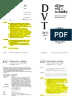 Dvt101 Contents Obalka Obsah Recenze Kronika Literatura