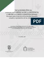 implicaciones eticas y juridicas.medicas de la sentencia C355