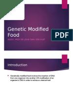 Genetic Modified Food