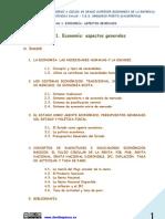 UNIDAD 1 ECONOMÍA ASPECTOS GENERALES