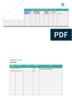 Excel-CRM-template
