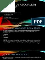 FORMAS DE ASOCIACION AL GRUPO