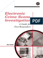 Electronic Crime Scene Invetigation