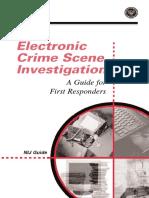 Electronic Crime Scene Invetigation