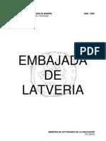 Latveria - Memoria 2008 - 2009 V1