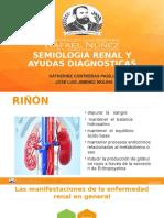 SEMIOLOGIA RENAL y AYUDAS DIAGNOSTICAS