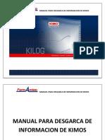 MANUAL PARA DESGARCA DE INFORMACION DE KIMOS