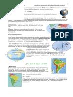 TALLER SOCIALES sistemas de ubicación geográfica GRADO 4°