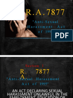 ACLC SEXUAL HARASSMENT