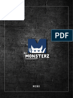 Monsterz Kitchen & Bar Menu