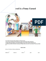 TEACHER A Penny Saved Is a Penny Earned