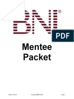 7. BNI Mentee Packet