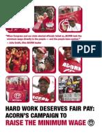 ACORN USA Minimum Wage Report