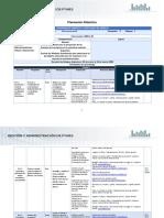 Planeación Didáctica, Unidad 2, Macroeconomía