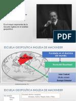 Escuela Geopolitica Inglesa de Mackinder