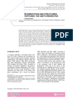 The implementation and structuring of divestitures