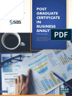 _AICTE Business Analytics PGCM Flyer