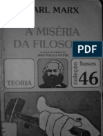 MARX, Karl - Miséria da Filosofia (Global)