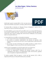 BPM, SOA e Business Rules Engine, l'ultima frontiera
