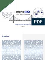 KordSA_Investor_2019Q1