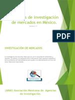 Presentación 4)Agencias de investigación de mercados en México