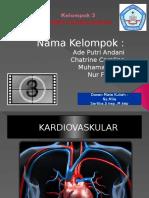 Kelompok 3 sistem kardiovaskuler