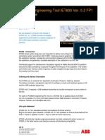 1MRK500 116-GEN-UEN - IET600 Release Notes