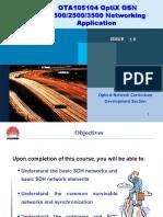 OTA105104 OptiX OSN 150025003500 Networking Application ISSUE1.0 (2)
