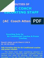 duties-of-ac-coach-escorting-staff
