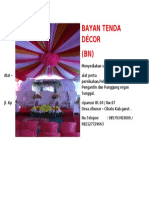 BAYAN TENDA DÉCOR