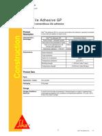 Sika Tile Adhesive GP 2011-10_1