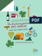 """Dossier de Presse """"Vin&Vélo"""" - Canal des 2 Mers à Vélo"""