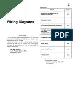 2001 LASER Wiring Diagrams