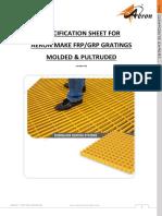AERON FRP-GRP GRATING SPECIFICATION SHEET Version 3 0 LITE.pdf