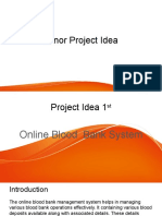 Minor Project Idea