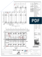 XF42G-A700-321_RAa_ Structural Drawing for Truck Loading Shed  Plan (1 OF 2)