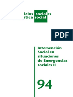 intervencion social en emergencias sociales II