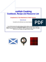 Scottish Cookbook by Clan Mackintosh