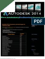 Autodesk 2014 all products universal keygen for Windows  Mac  Freeware Picks  C
