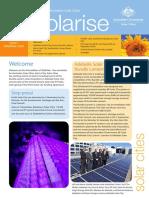 November 2009 Solarrise Newsletter, Australia Solar Cities
