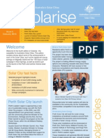 February 2010 Solarrise Newsletter, Australia Solar Cities