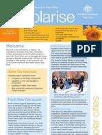 February 2010 Solarrise Newsletter, Australia Solar Cities