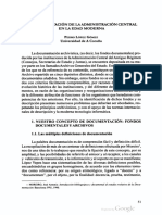 Lopez Gomez,P.-La documentacion de la Administracion Central en la Ed Moderna