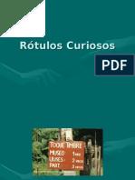 Rotulos Curiosos