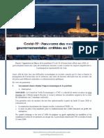 Covid19 _ Panorama Des Mesures Gouvernementales