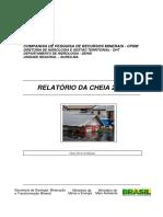 CHEIA 2012 - RELATÓRIO CPRM