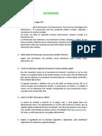 Actividades. Tema 11. Comunicación
