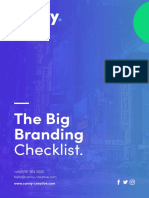 Canny -  The Big Branding Checklist
