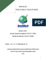 MAKALAH administrasi publik yang efisien.pdf
