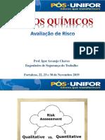 Apresentação Agentes Químicos - Parte 3 - Avaliação de Risco - Qualitativa e Quantitativa.pdf
